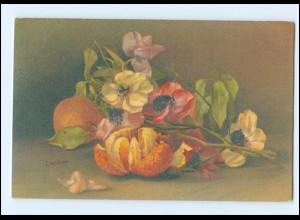 Y18482/ Stilleben Obst Apfelsinen Litho AK C.von Sivers, Wenau-Pastell ca.1912