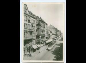 V1361/ Mannheim Breitestraße Straßenbahn Foto AK ca.1940
