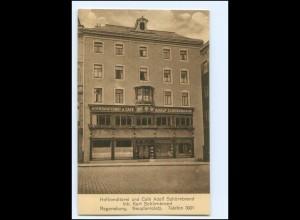 V1375/ Regensburg Konditorei Cafe Schürnbrand AK ca.1925