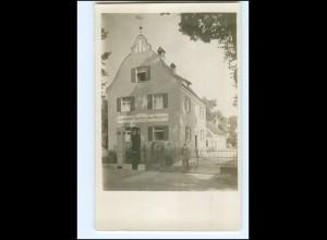 V1517-8880/ Dillingen Landwirtsch. Maschinen Karl Kagerer Foto AK ca.1912
