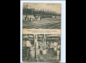 V1377-7555/ Bietigheim Württ. Kriegsverpflegungs-Anstalten AK 1918