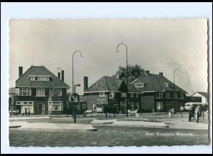 Y18543/ Best Kruispunt Rijksweg AK Niederlande ca.1955