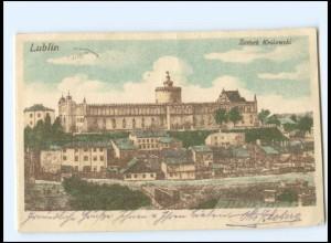 Y18561/ Lublin Zamek Krolewski Polen AK