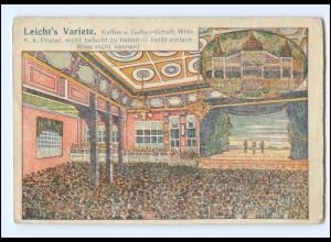 Y18567/ Wien Leicht`s Variete AK ca.1920