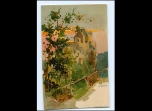 Y18571/ Aggstein Tirol Litho AK ca.1900