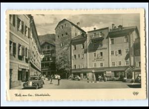 Y18573/ Zell am See Stadtplatz Foto AK m1950