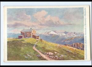 Y18574/ Naturfreundehaus vei Steinach am Brenner AK ca.1925
