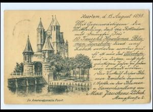 Y18598/ Haarlem AK 1898 Niederlande
