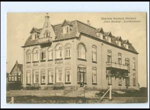 Y18604/ Noordwijk Haus Winckler Zuid-Boulvard AK 1911