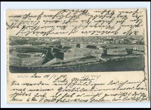 Y18614/ Malta Fort Manoel AK 1901