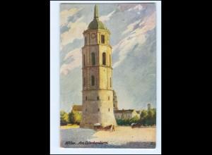 V1532/ Wilna Am Glockenturm Litauen AK ca.1915