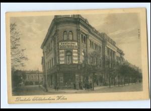 V1534/ Wilna Deutsches Soldatenheim Litauen AK 1917