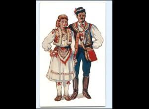 V1553/ Kroatien Volkstrachten - Vladimir Kirin AK
