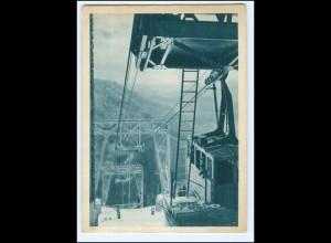 V1569/ Raxalbe Rax-Begstation Seilbahn AK 1943 Steiermark