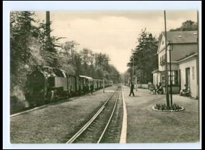 XX12085/ Ostseebad Heiligendamm Bahnhof der Bäderbahn Eisenbahn AK 1968