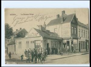 XX12107/ Menin Menen Belgien La Douane Belge AK 1915