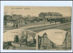 XX14713-4755/ Holzwickede Bahnhof AK 1916