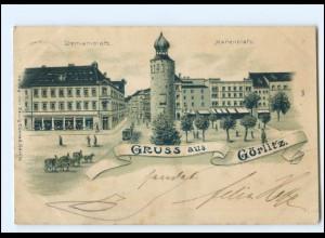 XX12283-028./ Gruß aus Görlitz 1908 Litho AK