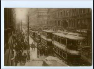 XX12574/ Manchester Deansgate Tram Straßenbahn Foto AK 1927
