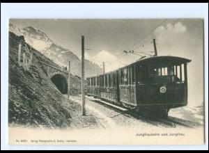 XX12568/ Jungfraubahn Bergbahn AK ca.1910 Kt. Bern