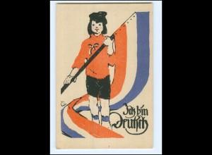 XX12748/ Ich bin Deutsch - Abstimmung 1920 AK Schleswig--Holstein