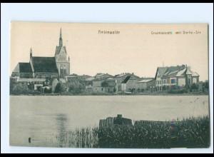 XX13049/ Freienwalde Staritz-See Pommern AK ca.1912