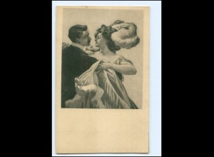 XX12731/ Simplicissimus Karte Jugendstil ca.1910 AK