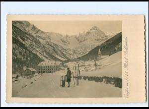 XX12499/ Trafoi Hotel Bellaviste Foto AK ca.1930 Südtirol