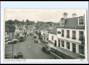 XX12492/ Storrington Autos Omnibus Foto AK ca.1955 Großbritannien