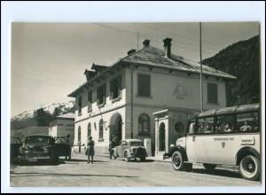 XX12489/ Val Venoste - Tubre Confine di Stato Italie - Svizzera Foto AK Italien