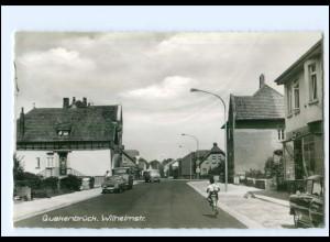 XX12259-4570/ Quakenbrück Wilhelmstraße 60er Jahre AK