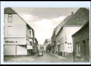 XX12261-4573/ Löningen Langestraße 60er Jahre AK