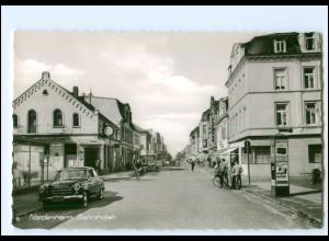 XX12356/ Nordenham Bahnhofstraße 60er Jahre AK