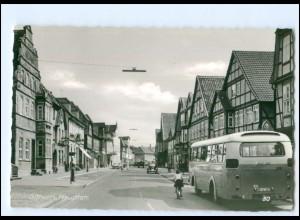 XX12242/ Gifhorn Hauptstraße Omnibus 60er Jahre AK