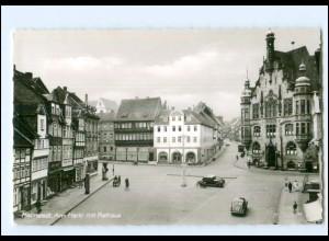 XX12232/ Helmstedt Am Markt mit Rathaus 60er Jahre AK