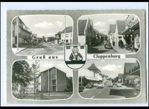 XX12273/ Gruß aus Cloppenburg 60er Jahre AK