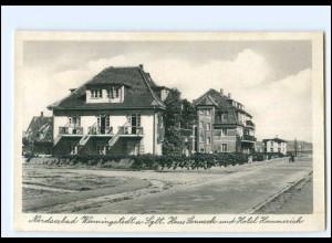 XX12457/ Wenningstedt Sylt Haus Sonneck Hotel Hammerich AK 50er Jahre