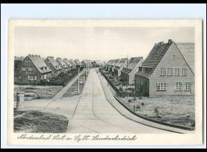 XX12391/ List auf Sylt Landwehrdeich 50er Jahre AK
