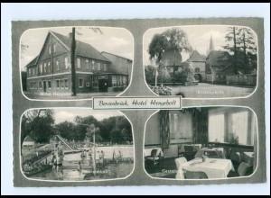 XX12277-4558/ Bersenbrück Hotel Hengeholt 60er Jahre AK