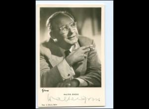 XX12968/ Walter Gross Original Autogramm Foto AK 1953