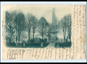 V1586/ Sassbach Turenne Denkmal Elsaß AK 1898