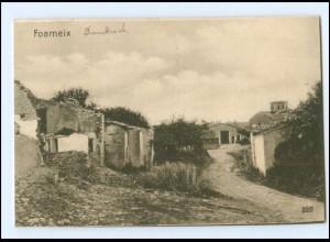 V1590/ Foameix Westlicher Kriegsschauplatz Frankreich AK ca.1915