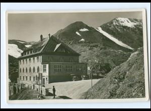 Y18694/ Albergo Passo dello Stevio Südtirol Italien Foto AK ca.1930
