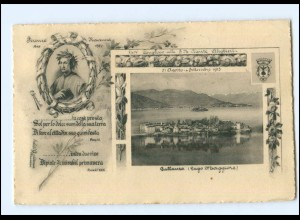 V1594/ Pallanza Congresso della S.M. Dante Alighieri 1913 AK Italien