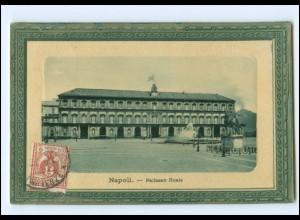 Y18699/ Napoli Pallazzo Reale AK 1911 Italien