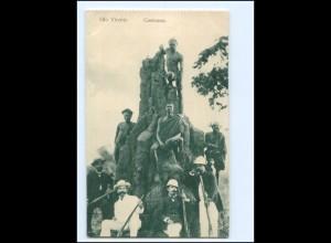 V1616/ Kap Verde Costumes Afrika Ak ca.1912
