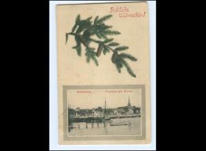 V1601/ Sonderburg Weihnachten AK Nordscheswig 1910