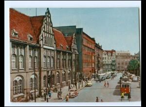 Y18727/ Zabrze Ulica Dwircowa Straßenbahn Polen AK