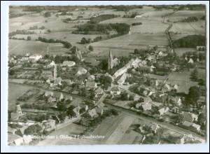XX12633-2846/ Neuenkirchen Luftaufnahme 60er Jahre AK