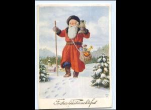 XX12728/ Weihnachten Weihnachtsmann AK 1948